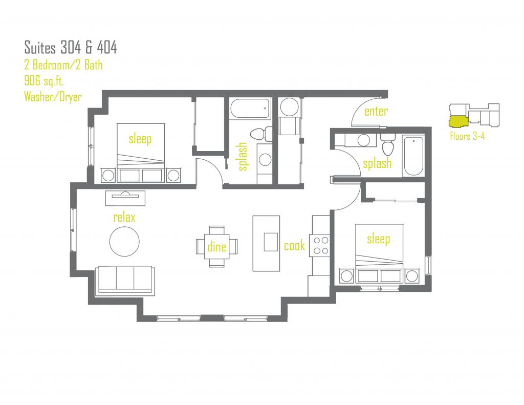 100 300 Sq Ft Apartment Floor Plan Home Woodbridge